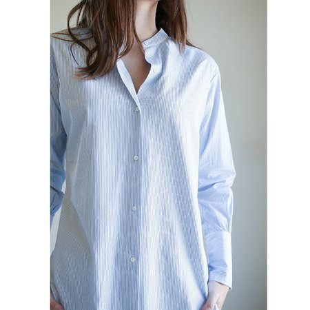 Nili Lotan Faye Shirt - Blue