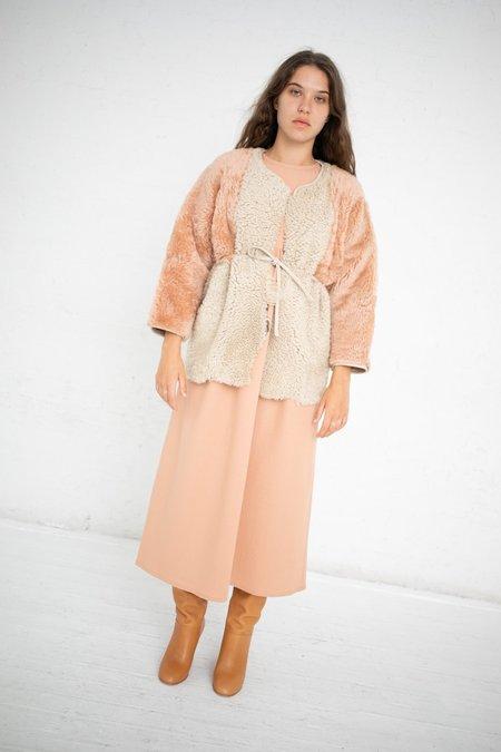 Milena Silvano Diamond Kimono - Sunrise Pink