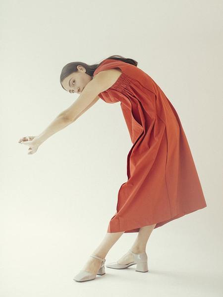 Unisex Beira Layer Dress - Red