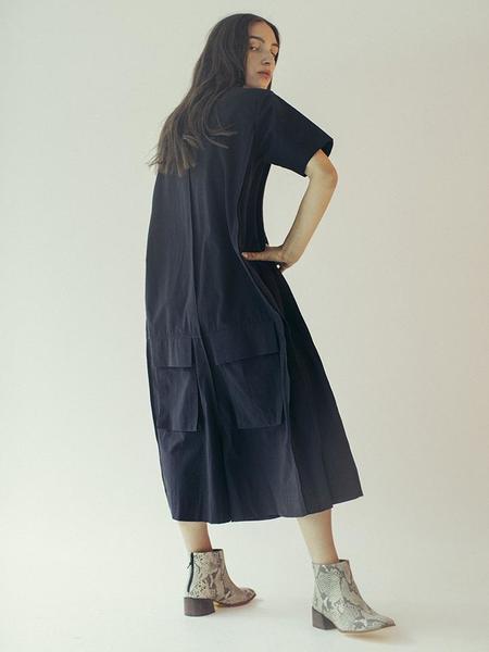 Unisex Beira Layer Jumpsuit - Black