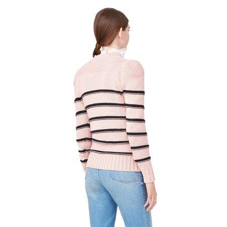 Rebecca Taylor Merino striped pullover