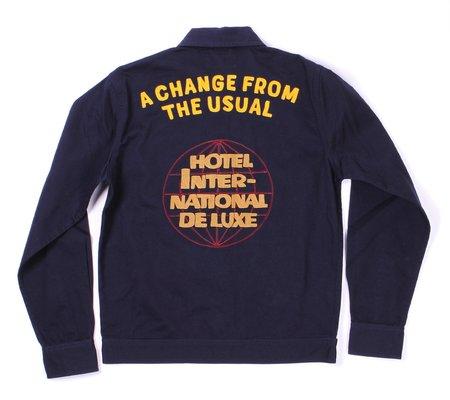 Universal Works Special Edition Uniform Twill Shirt - Navy