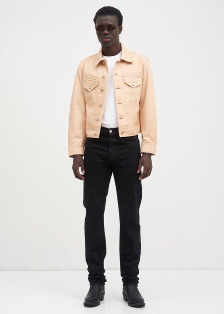 Helmut Lang Masc Hi Straight Jeans - Black