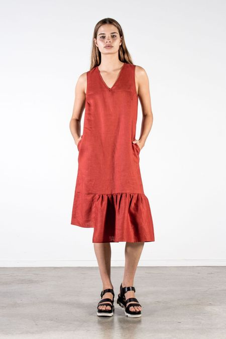 Nyne Kalla Dress - Copper Linen