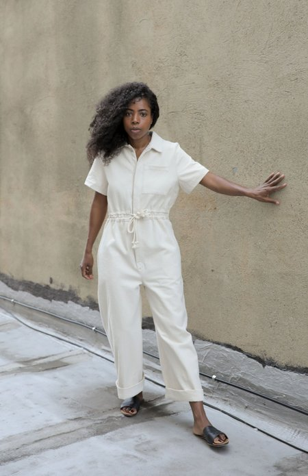 Kordal UTILITY JUMPSUIT - NATURAL