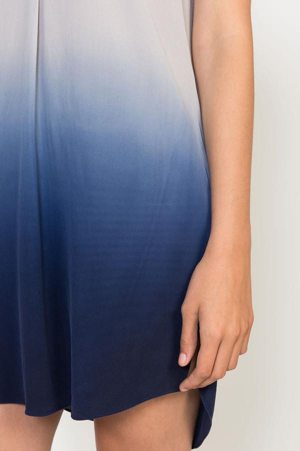 Rebecca Taylor Dip Dye Silk Shift Dress