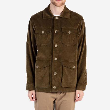 Kestin Hare Field Corduroy Jacket - Olive