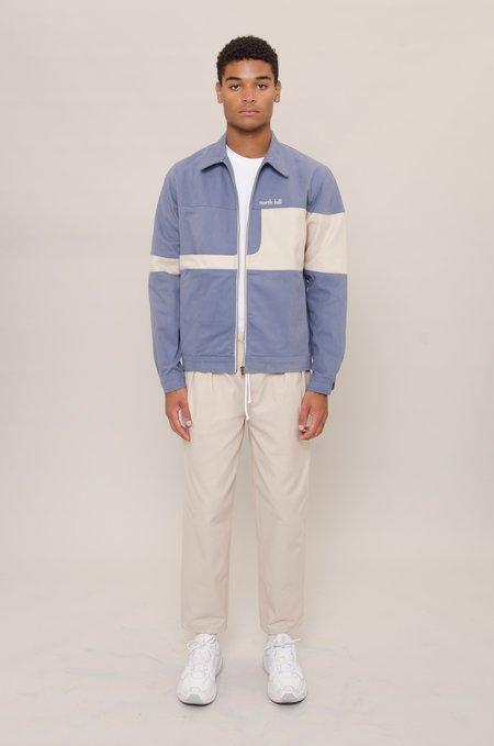 North Hill Zip Denim Jacket - Blue