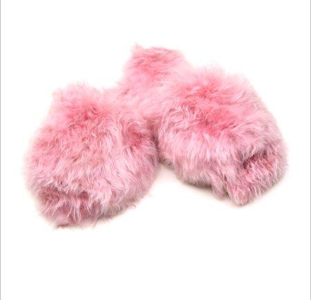 Ariana Bohling Suri Alpaca Slipper - Pink