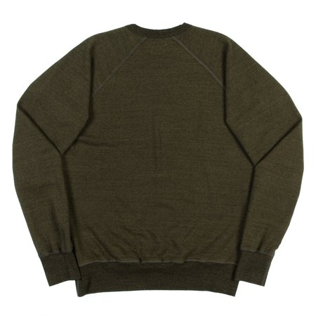 National Athletic Goods Raglan Warm Up SWEATSHIRT - Olive