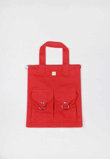 L.F.Markey Super Shopper Bag - red