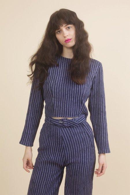 Samantha Pleet Aura Pants - Purple/Navy