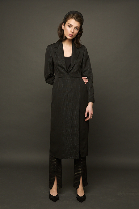 DESERT MANNEQUIN x N-DUO Suit dress - black
