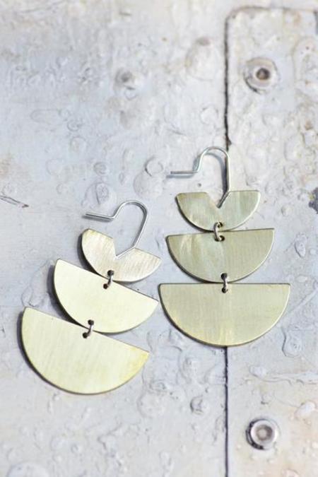Lumafina Short Lunar Earrings