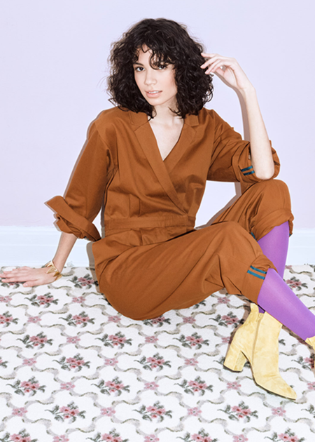 Chistine Alcalay Jumpsuit - Spice