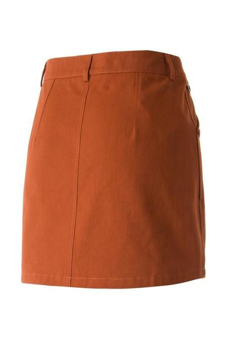 Fascination Ride into the Sunset Miniskirt - Camel
