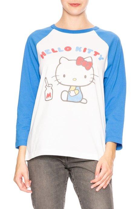 Chinti and Parker Hello Kitty Baseball Cotton - Tee