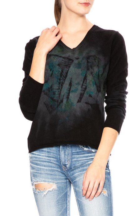 Galadriel Mattei Stained Glass V Neck Sweater