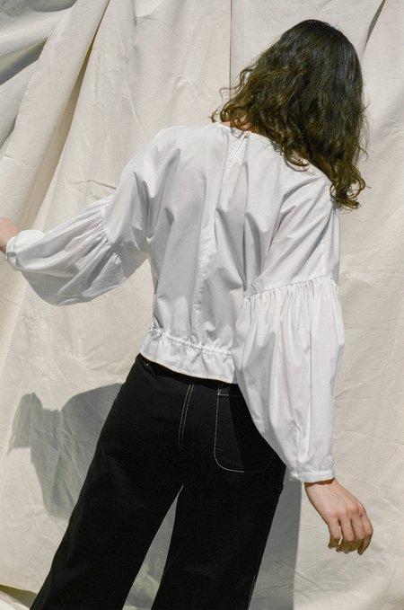 Shaina Mote Arne Top - White Poplin