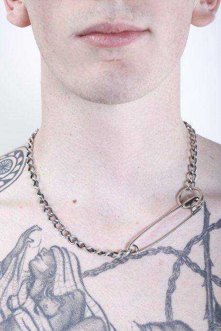 Martine Ali Pin Necklace - Silver