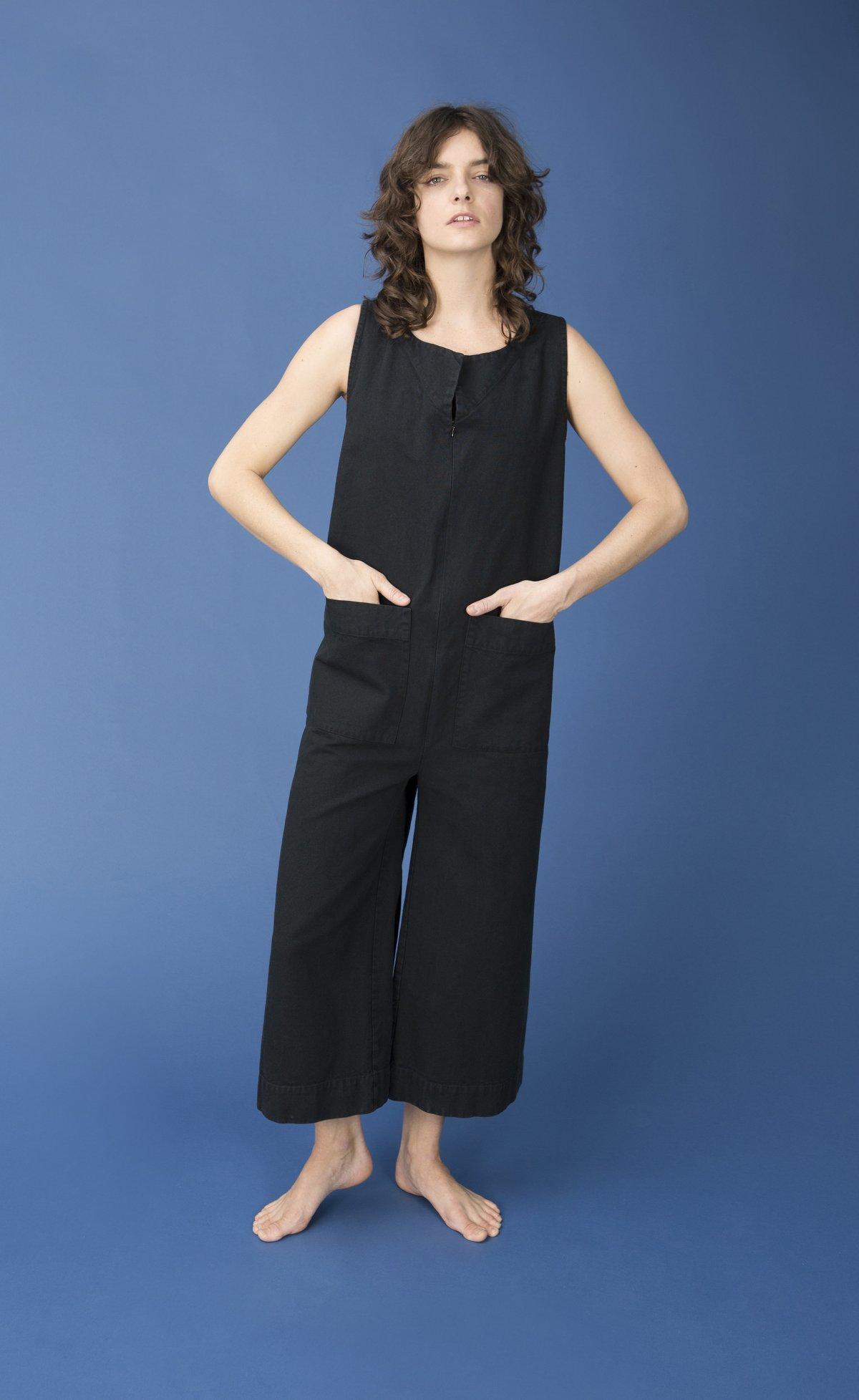 1f72dbb3276d Ilana Kohn Geneva Jumpsuit - Inky