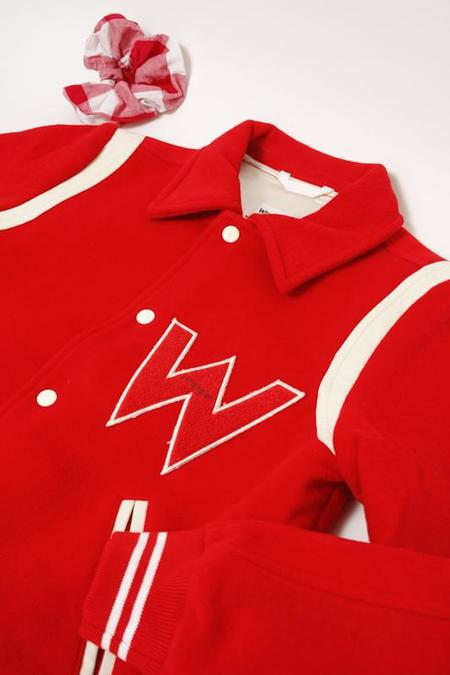 Wrangler Bomber Jacket - Red