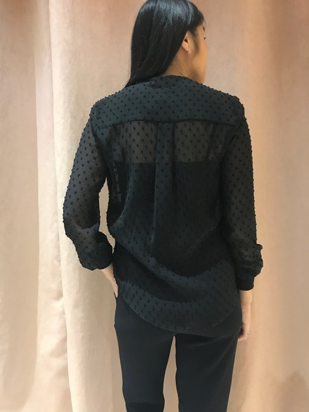 Melissa Nepton MORGAN blouse - BLACK