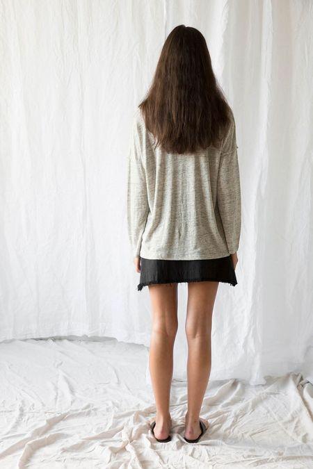 MARLE Yelena Longsleeve tee - Grey Marle