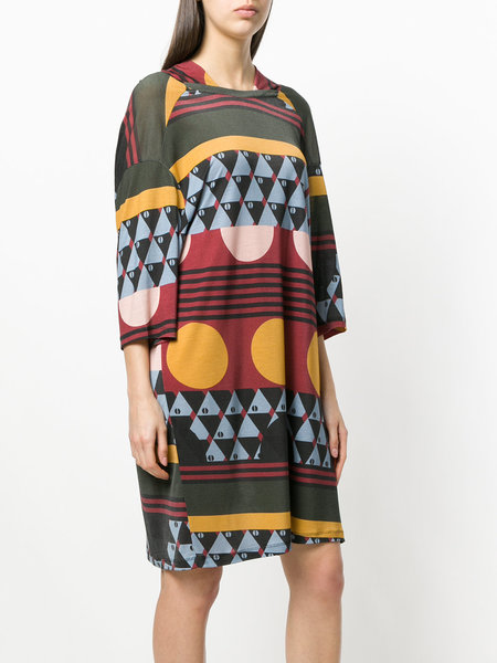 Henrik Vibskov Scale Onesize Dress - Turkish Print Dark