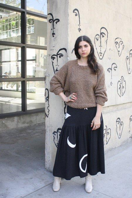 Kordal Textured sweater - Cafe