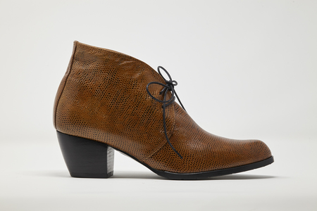 5yMedio FERNANDA boot - BRANDY