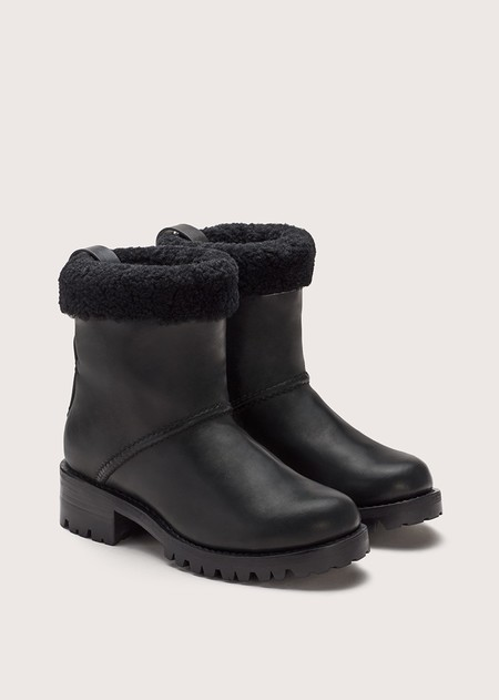 FEIT Shearling Boot - Black