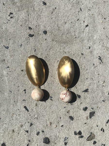 Edas Jewels Meadows Earrings - BRASS