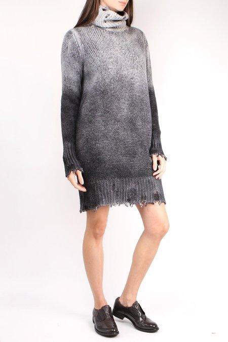 Avant Toi Burnout Sweater Dress