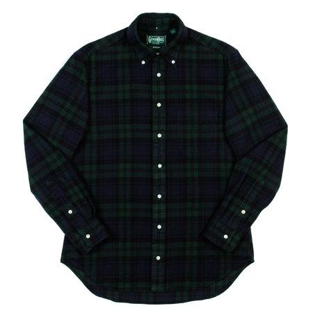 Gitman Vintage Button-Down Shirt - Blackwatch Flannel