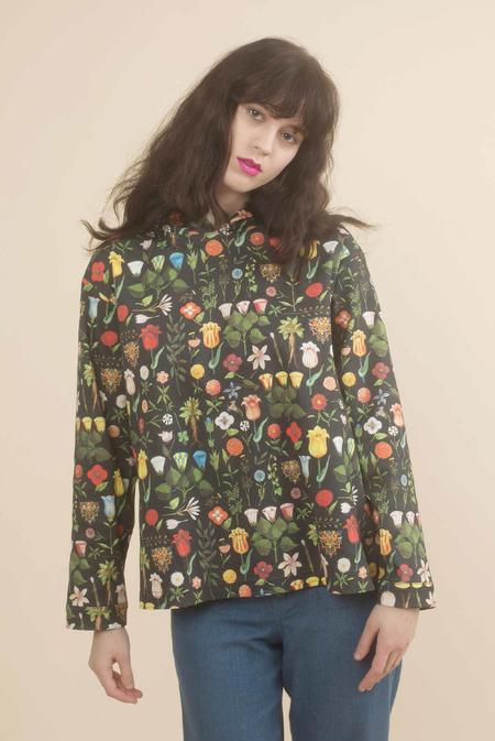 Samantha Pleet Mandrake Shirt in Black Blossom