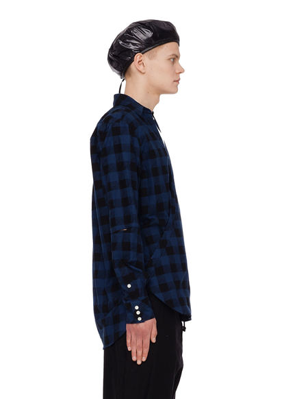 The Soloist Wrap Shirt - Checkered