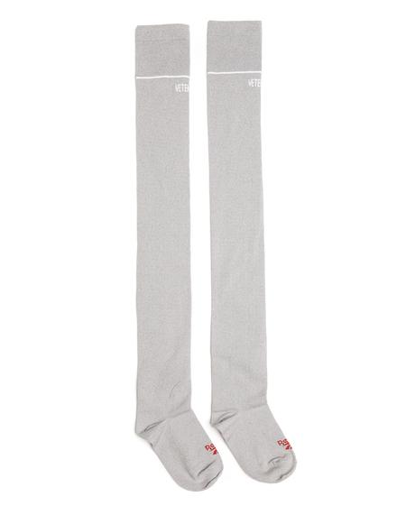 Vetements Lurex Knee High Socks