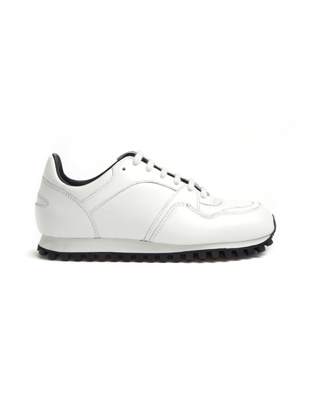 Spalwart Nappa Leather Sneakers - White