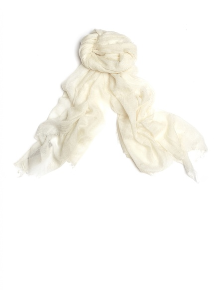 Rick Owens Cashmere and Silk Scarf