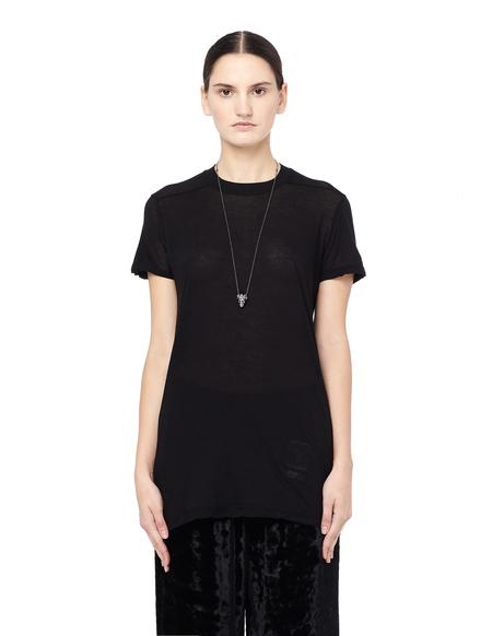 DRKSHDW by Rick Owens See-through Cotton T-Shirt - black