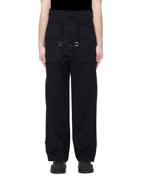 The Soloist Military Trousers - Black