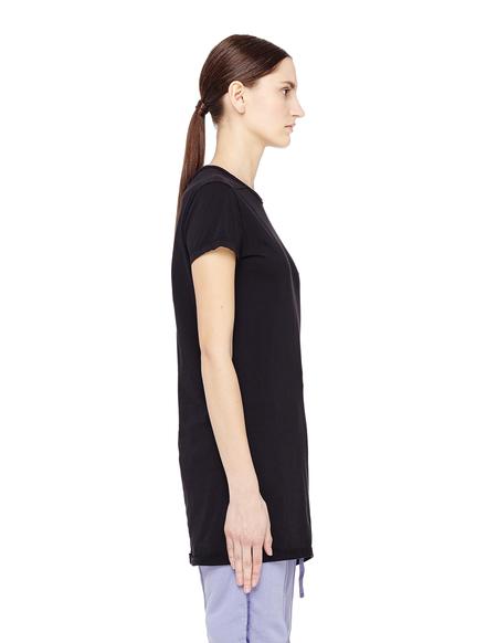 DRKSHDW by Rick Owens Subhuman Dropped Hem T-shirt - black
