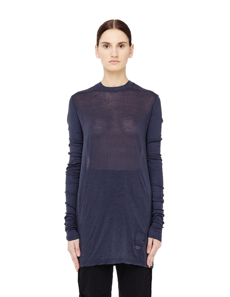 DRKSHDW by Rick Owens Cotton Long Sleeve T-shirt - Gray