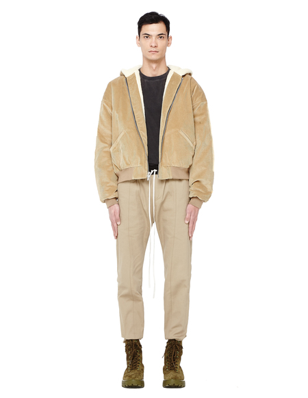 Fear of God Selvedge Drawstring Chino Pants - Khaki
