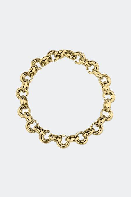 Gabriela Artigas & Company Egg Link Bracelet - Gold