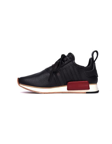 Hender Scheme Adidas NMD_R1 Leather Sneakers - Black