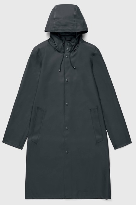 STUTTERHEIM STOCKHOLM LONG RAINCOAT - GREEN