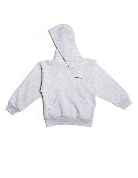 Kids Balenciaga Hoodie - Grey