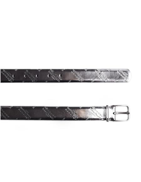 Maison Margiela Logo Belt - Silver
